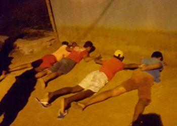 Quarteto � detido em Itabaiana ap�s pr�tica de assaltos na cidade de Frei Paulo