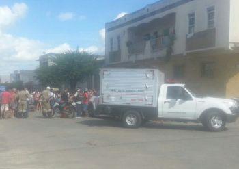 Corpo de idosa, v�tima de atropelamento em Itabaiana, permanece em via p�blica por 5 horas � espera do IML