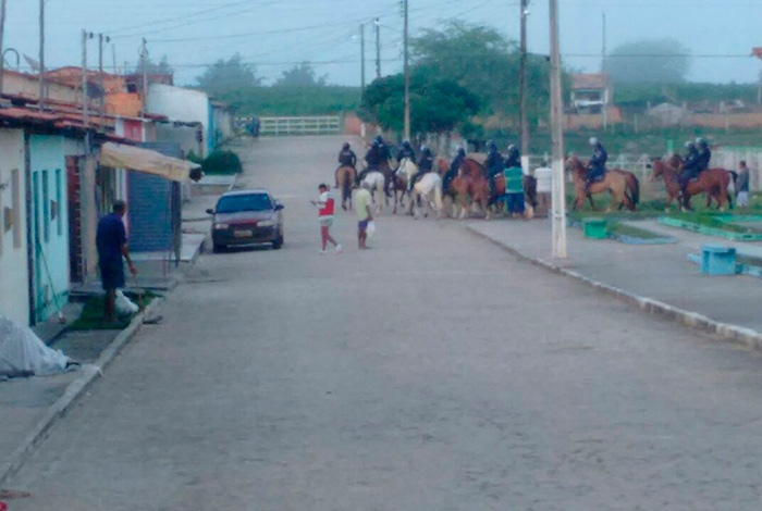 Reintegração de posse fazenda Pedra Mole Sergipe