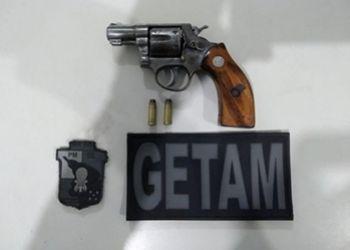 Homem � preso em flagrante em Itabaiana por porte ilegal de arma de fogo
