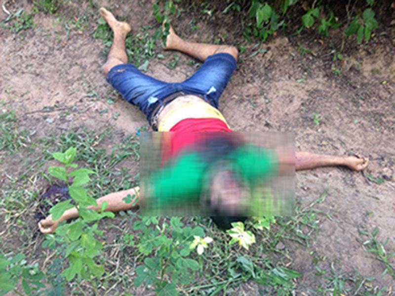 assassinato arma de fogo povoado Flechas Itabaiana Sergipe