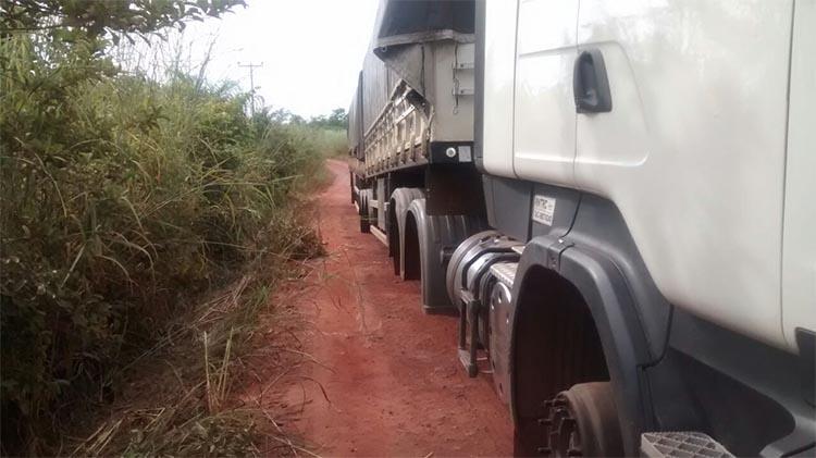 roubo pneus caminhão Itabaiana Sergipe