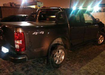 Carro tomado de assalto no munic�pio de Areia Branca � recuperado pela PM em bairro de Itabaiana