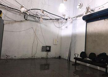 Ap�s chuvas, instala��es do Getam s�o interditadas por problemas estruturais