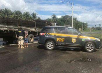 PRF prende foragido da Justi�a Sergipana na BR-110 no interior baiano
