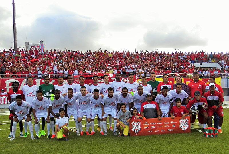 Club Sportivo Sergipe campeão sergipano 2016
