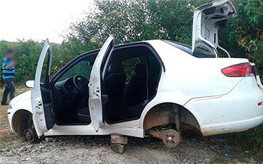 Fiat Siena roubado Itabaiana Sergipe
