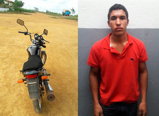 motocicleta tomada assalto Pinhão Sergipe