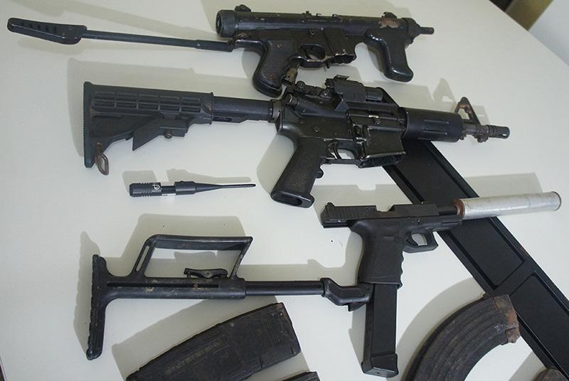 maconha, armas e munições Itabaiana Lagarto Ribeirópolis