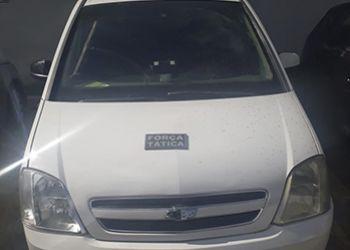 Veículo roubado na capital sergipana é recupera por Policiais do 3.º BPM na Zona Rural de Itabaiana