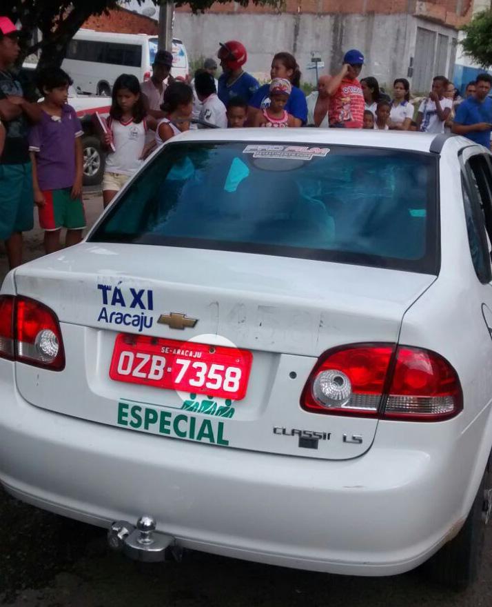taxi aracaju itabaiana acidente