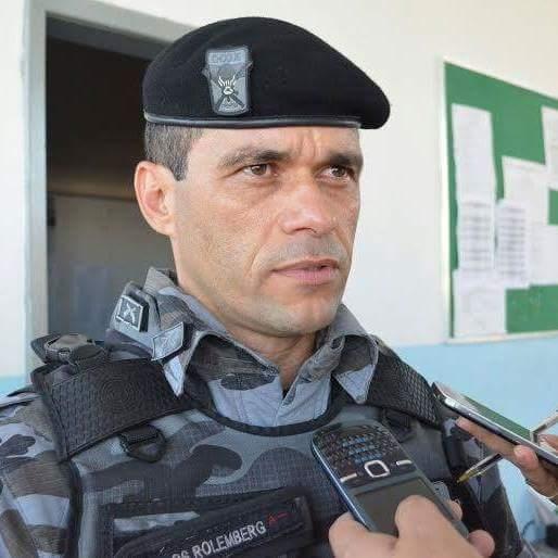 tenente-coronel Carlos Rolemberg Polícia Militar de Sergipe