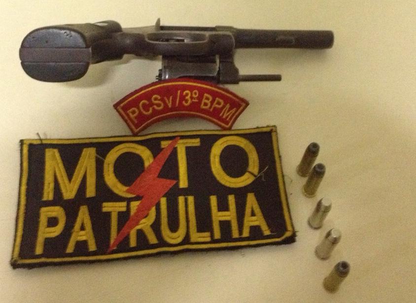 revolver Itabaiana Sergipe Moto Patrulha