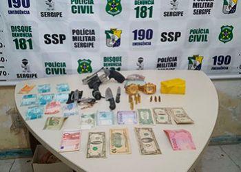 Jovem é preso em Ribeirópolis por comércio ilegal de armas de fogo