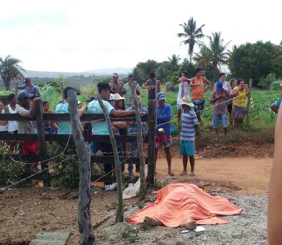 assassinato arma de fogo Itabaiana Sergipe