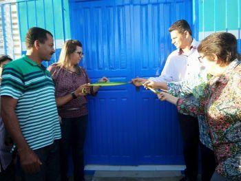 Unidade B�sica de Sa�de do povoado Caja�ba � entregue � popula��o totalmente reformada
