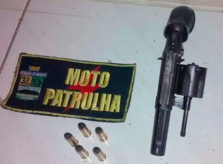 arma de fogo Itabaiana Sergipe