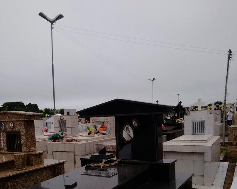 vandalismo cemitério Frei Paulo Sergipe