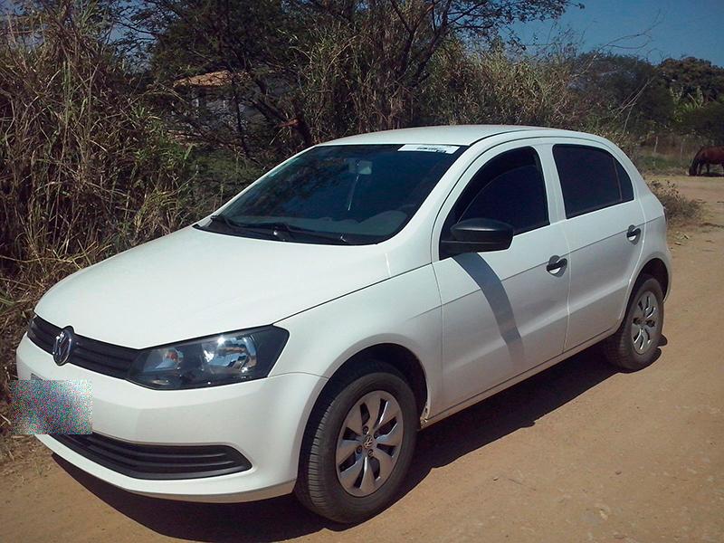 Volkswagen Gol assalto Itabaiana Sergipe