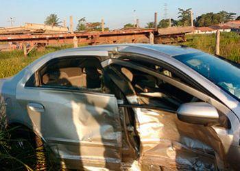 Prefeito de Ribeir�polis � v�tima de acidente de tr�nsito na BR-235