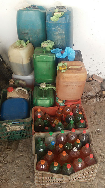 Venda Gasolina sem autorização povoado Itabaiana Sergipe