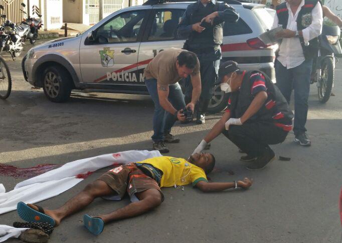 vendedor Pastel morto Aracaju Sergipe