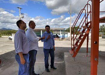 Deputado Federal Fábio Henrique conhece a Usina de Asfalto de Itabaiana