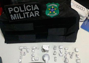 Suspeito de integrar associa��o criminosa � preso em a��o conjunta das policias Militar e Civil