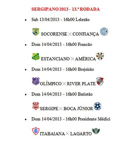 jogos_rodada_13_sergipano